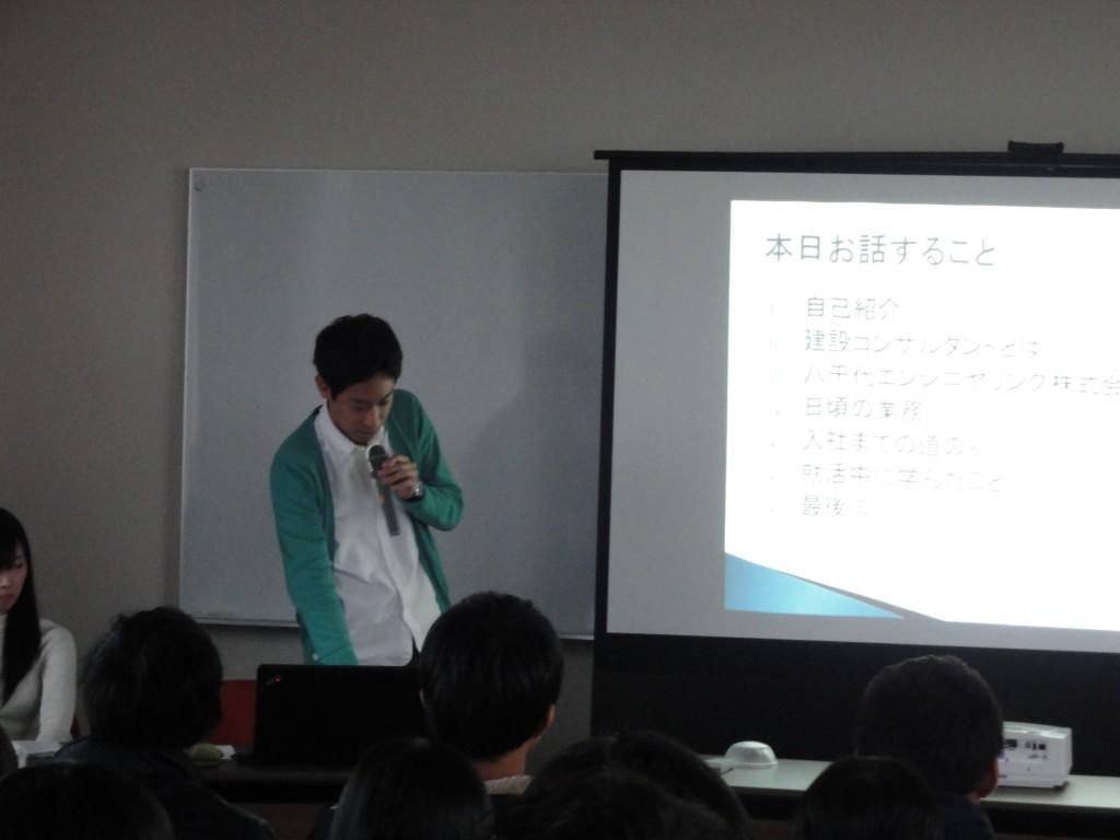 卒業生懇談会2